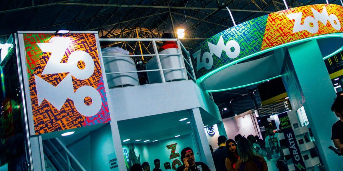 Espaço zomo na expo hookah 2019