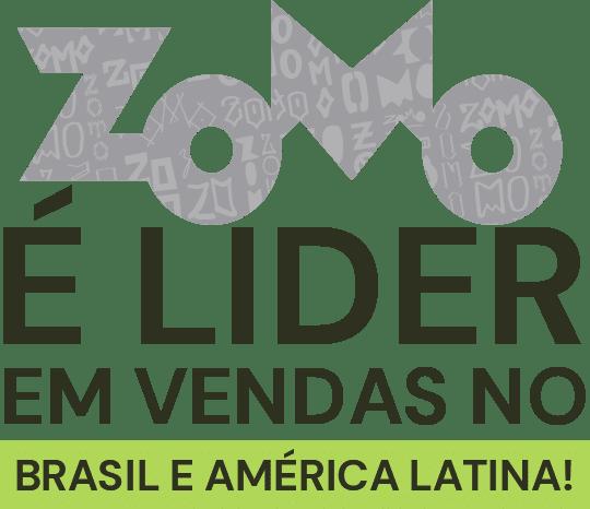 Zomo lider de vendas no brasil e america latina