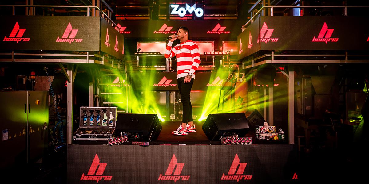 Hungria Hip Hop live fábrica flavors of americas